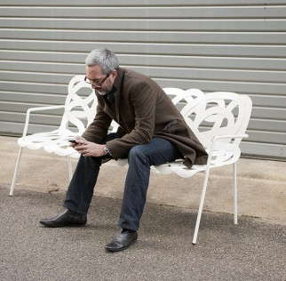 Photo of Marc Aurel on 'Treccia' seat