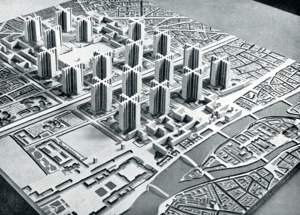 Image of Le Plan Voisin - New design for Paris by Le Corbusier