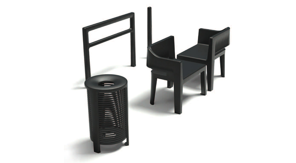 Image of Ikone furniture collection - Photograph by Indal