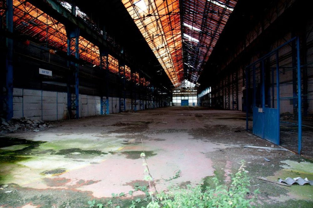 Image of abandoned spaces in Lille
