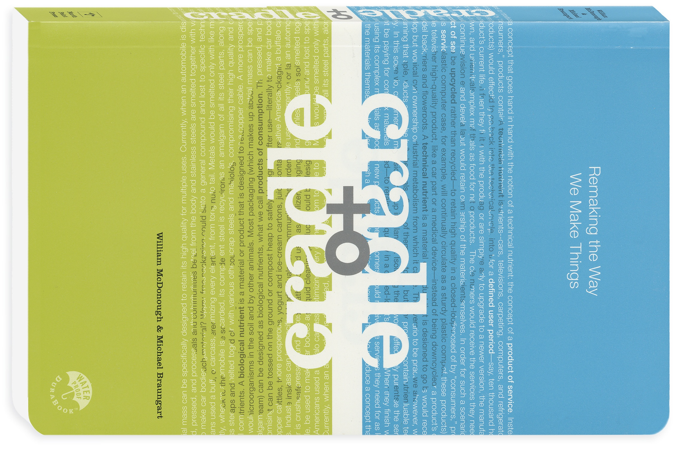 "Image of book ""Craddle to Craddle"""