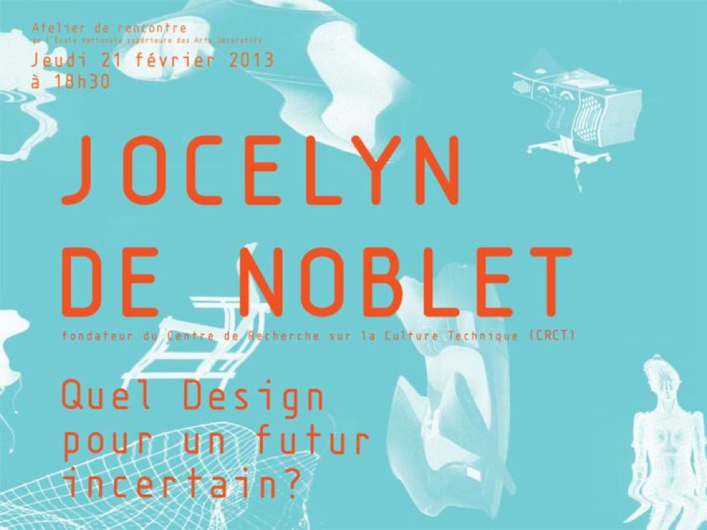 Image for Jocelyn de Noblet's conference