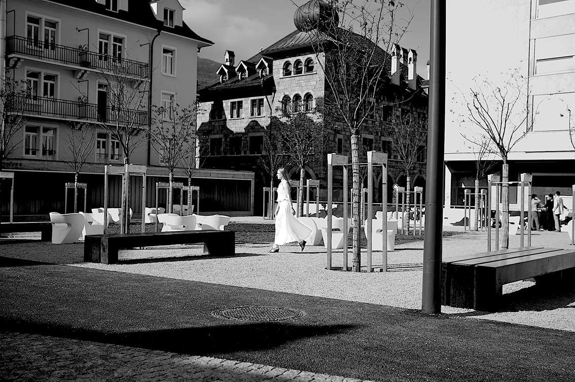 Image of street furniture in Switzerland