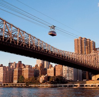 Image of New York cable car