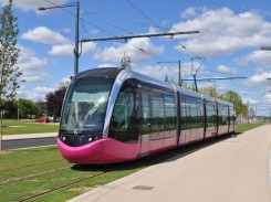 Image of tramway in Dijon