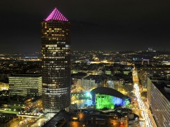 Image of public lighting in Lyon