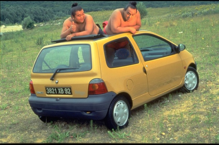 Image of Twingo designed by Patrick le Quément