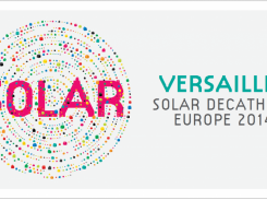 Logo for the Solar Decathlon 2014