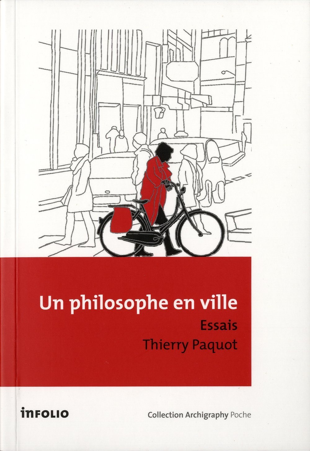 Cover of Un Philosophe en ville by Thierry Paquot