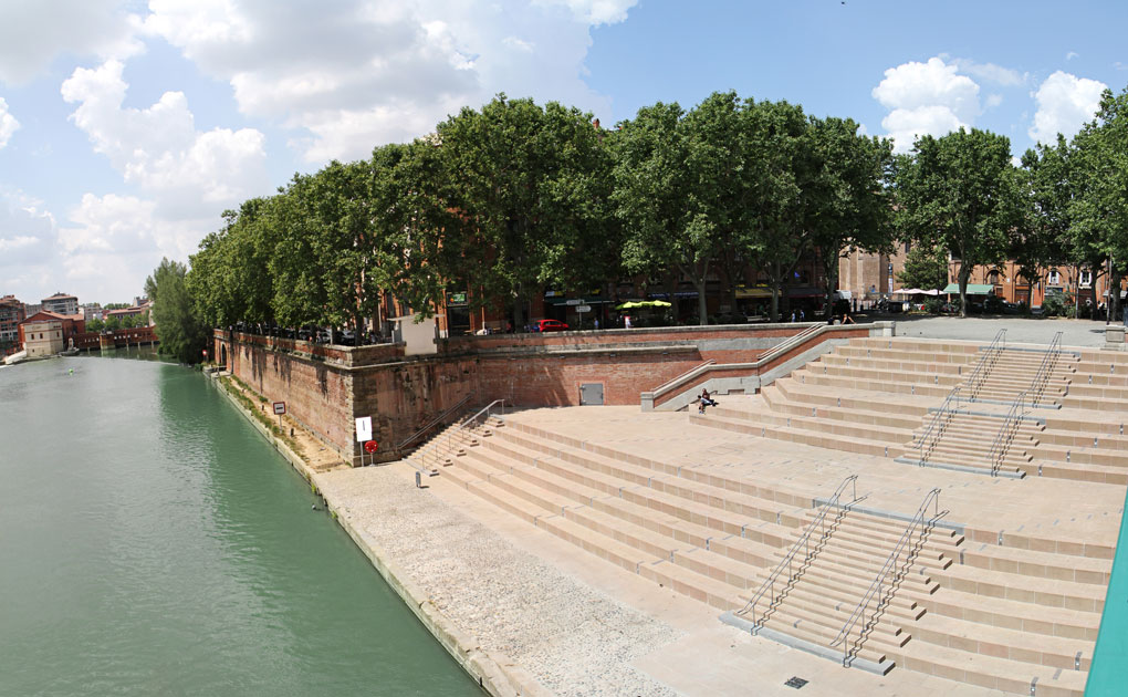 Image of urban redevelopment in Toulouse