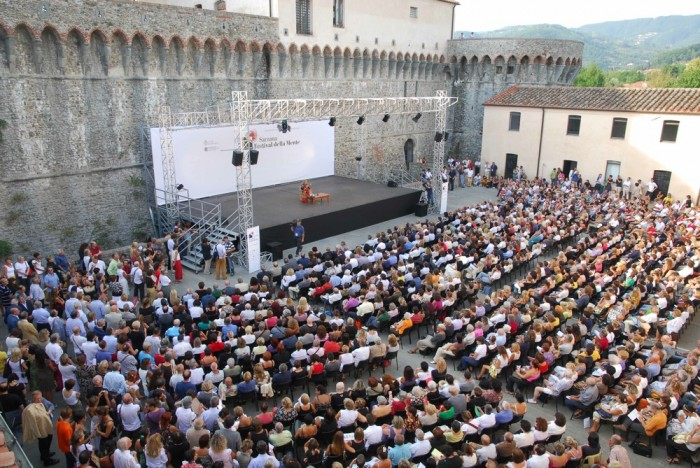 Audience at Festival della mente