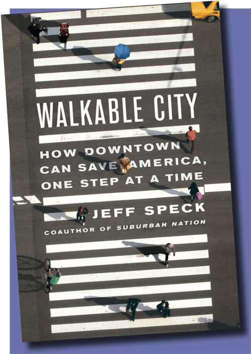 Book cover of Walkable City